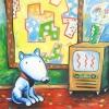 Blauer Hund 2